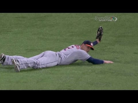 HOU@TB: Barnes makes an incredible diving snag