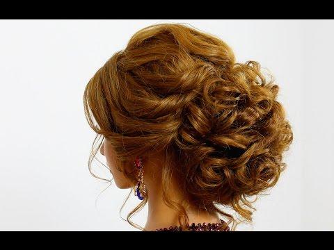Красивые причёски на средние волосы быстро