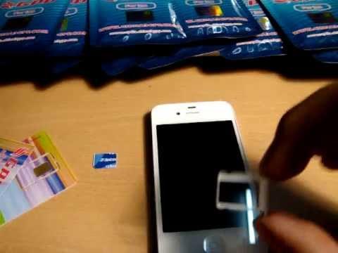 Como desbloquear con GPP Turbo Sim iPhone 4S iOS 6 - 6.1.3 GSM CDMA