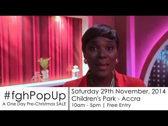 Anita Erskine invites you to #fghPopUp