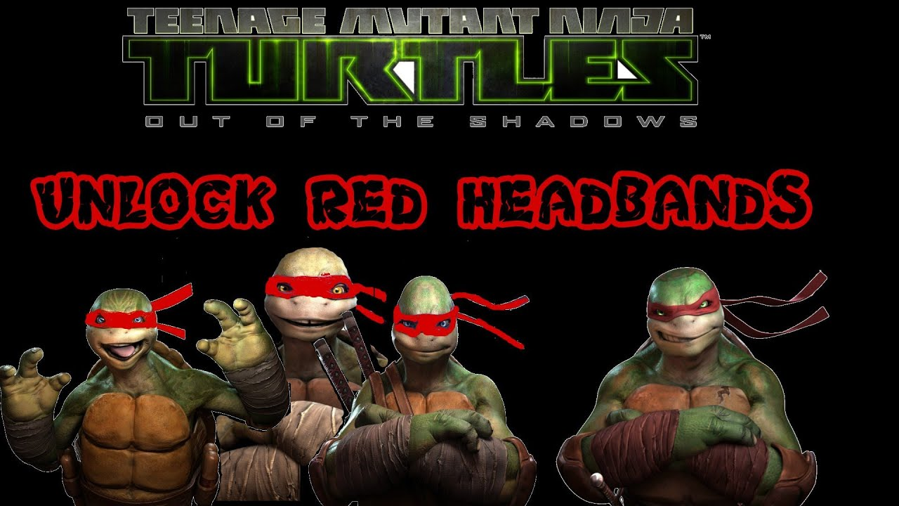 TMNT Out Of The Shadows How To Unlock Red Masks Xbox 360PS3PC YouTube