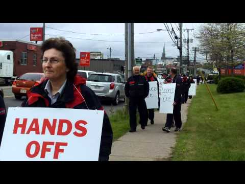 CUPW Fundy Local 105 locked out by Canada Post