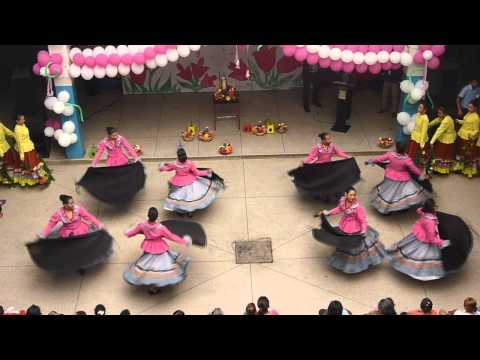 Ofrendas a Santa Bárbara Grupo de Danzas Dr. Leonardo Ruiz Pineda