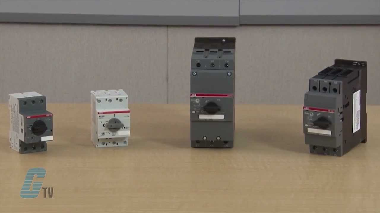 Abb Ms Series Manual Motor Protector Overview Youtube