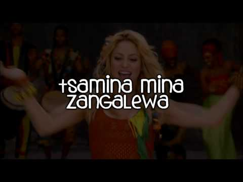 SHAKIRA - WAKA WAKA official video + LYRICS_TESTO (World Cup Africa) [HD]