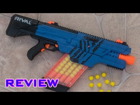 [REVIEW] Nerf Rival Khaos MXVI-4000 Unboxing. Review. & Firing Test