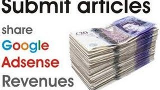 Get paid to write articles online - Aritcle submission (work from home)