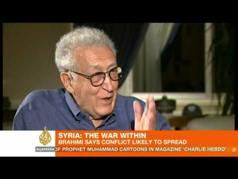 UN envoy Brahimi says Syria conflict 'likely to spread'