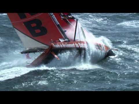Vendée Globe 2016 - PRB dans la tempête