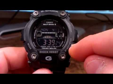 GW7900B-1 G-Rescue Black - Casio G-Shock Watch Review - Atomic Solar Military Stealth