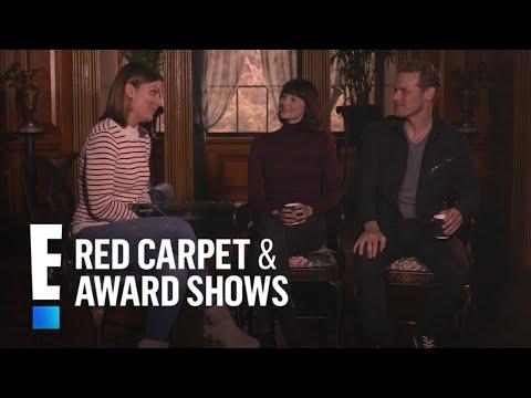 Sam Heughan & Caitriona Balfe Play 'Ne'er Have I E'er' Game | E! Red Carpet & Award Shows