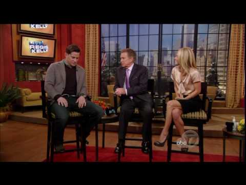 Channing Tatum on Regis & Kelly - HD Video