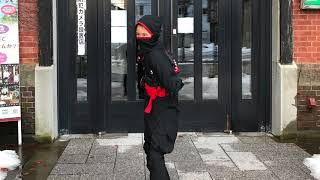 She is the ninja who came from Singapore