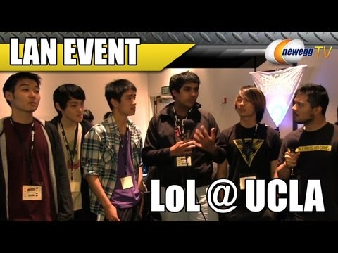 Newegg TV: UCLA League of Legends LAN Tournament - PENTAKILL