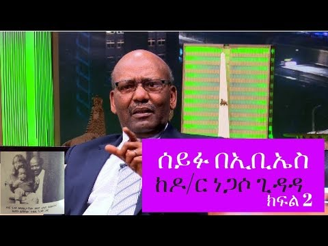 Seifu on Ebs Interview with Dr Negasso Gidada, the former Ethiopian President Part 2