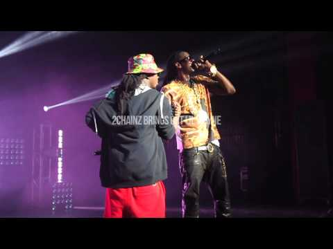2 Chainz Brings Out Lebron James & Lil Wayne In Miami!