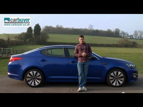 Kia Optima review - CarBuyer