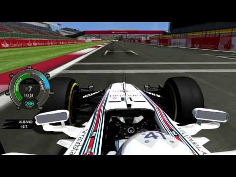F1 2014 Susie Wolff FW36 BritishGP [rFactor]