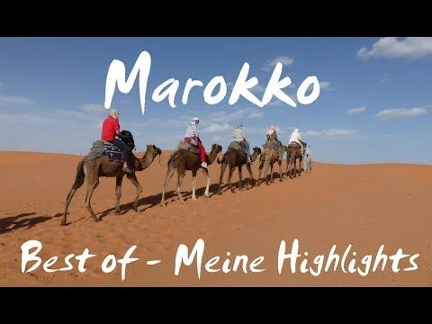 Marokko (deutsch): Best of / Meine Highlights - Vlog #66