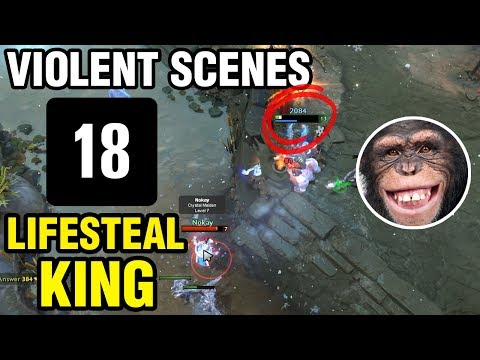 LIFESTEAL KING - 33 Plays Monkey King - Dota 2