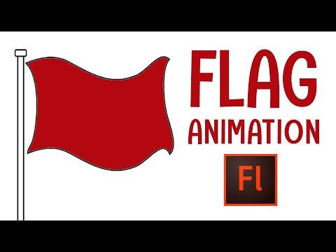 Flash Animation Tutorial - Flag Animation with Flash