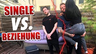 SINGLE vs. BEZIEHUNG!