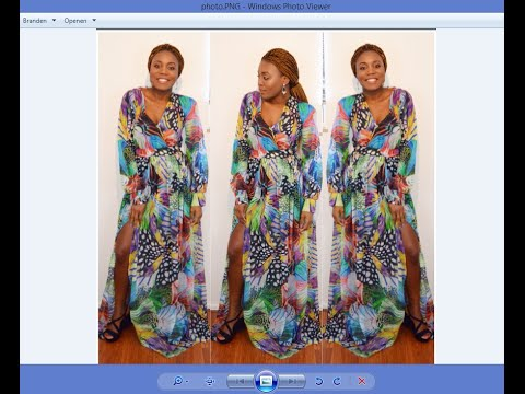 DIY How  To Make A Maxi Dress With Slit ( Easy Sewing)