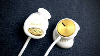 Marshall Minor Headphones Unboxing (White)