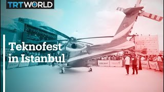 Teknofest 2021 kicks off in Istanbul
