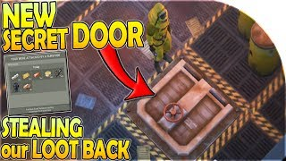 NEW SECRET TRAPDOOR HATCH + STEALING Our LOOT BACK in Last Day on Earth Survival 1.11.3