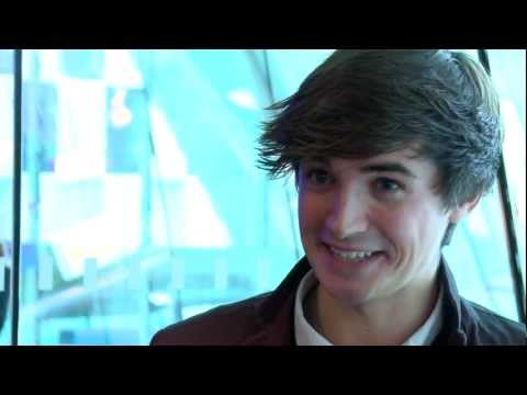 Interview with TV chef and food writer Donal Skehan at the Irish Book Awards shortlist event 2012