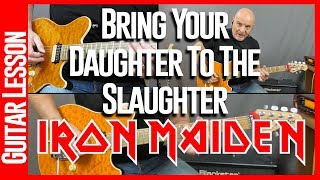 Bring Your Daughter To The Slaughter Guitar Lesson - Play That Riff #2