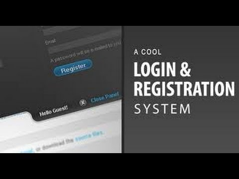 PHP Full Login System