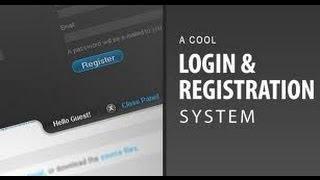 PHP Full Login System