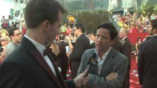 Primetime Emmy 61 Red Carpet Interview - Ross McCall