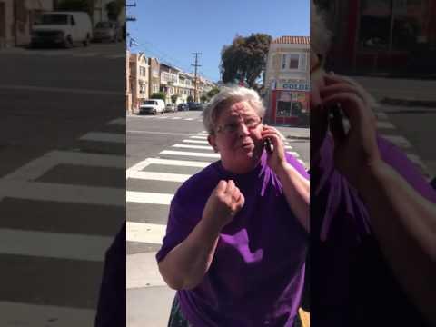 Коля, вызывай полицию! истерика накануне 9 мая в Сан-Франциско