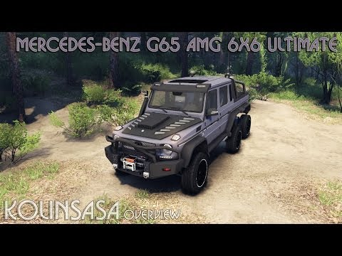 Mercedes-Benz G65 AMG 6x6 Ultimate