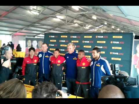 The Stormers meet Manchester United