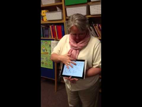 ShowMe app on iPad for Social Stories in Special Education