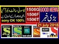 Sony Network New Software For 1506F/1506G/1506T