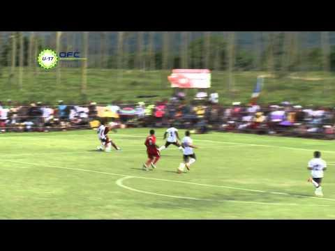 2013 OFC U 17 Championship Day 1 Fiji vs New Caledonia Highlights