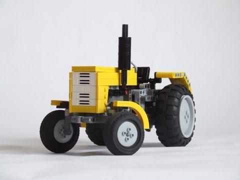 Lego Technic tractor Ursus c 360.