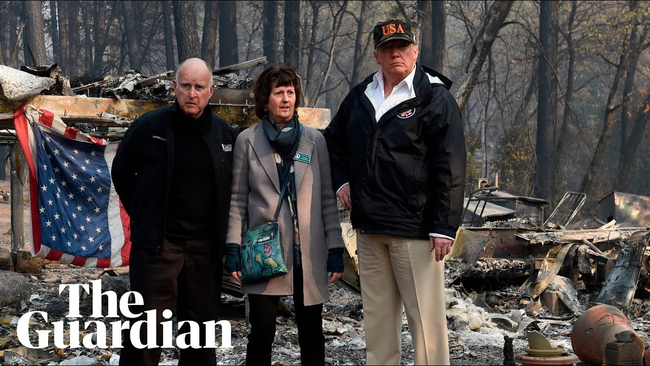 'I don't agree with his statements': residents react to Trump's California wildfire visit