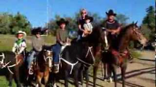 Gattlin Griffith Family Trick Riding 2.mov