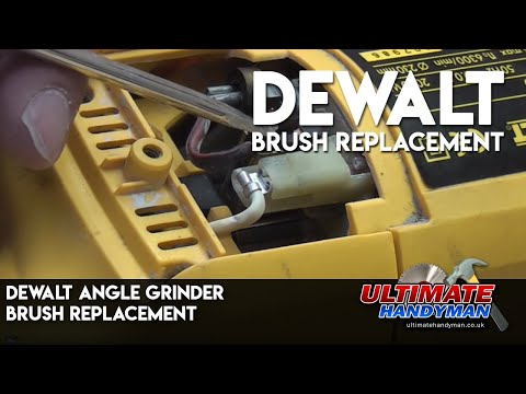 Dewalt  Angle grinder brush fix
