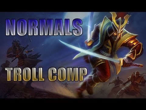 Let's Play Normals - League of Legends - EP70 - Shen, Troll Comp