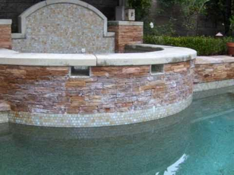 Pool Tile Cleaning   Bead Blasting Service (877)835-8763