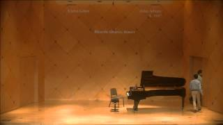 Video Andrew Quiring, Piano;