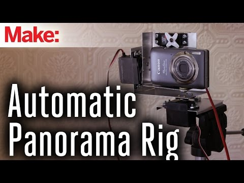Build an Automatic Photo Rig for Perfect Panoramas
