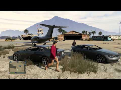 GTA Online [#8][Kubson] - Ślepa jazda i failowa wspinaczka
